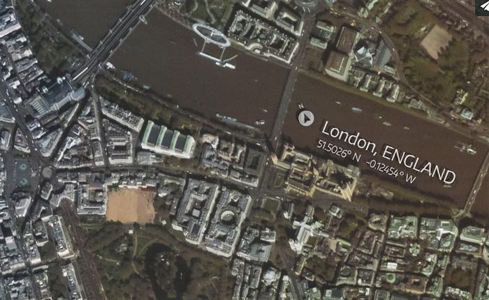 Так выглядит Лондон с борта МКС.