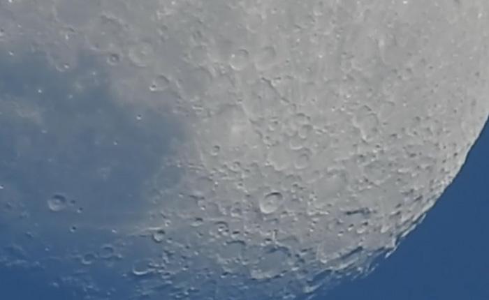 Рельеф Луны, который можно разглядеть без телескопа.