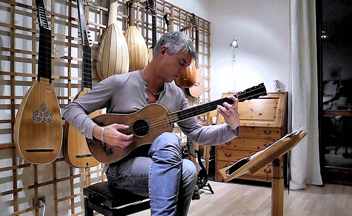 Барочная Тарантелла на гитаре Страдивари.