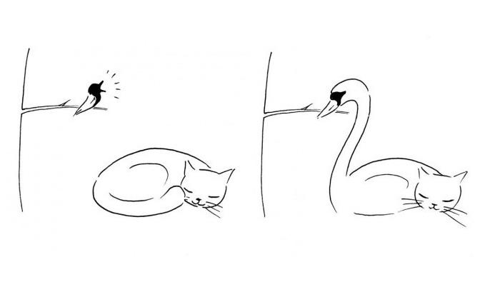 Коротенькие мультфильмы-зарисовки с неожиданным сюжетом.