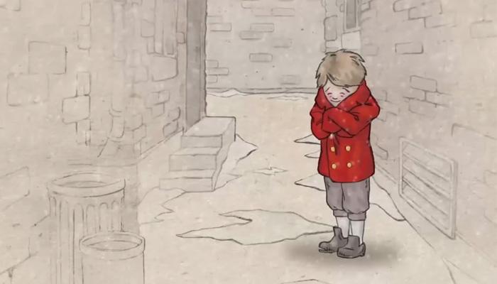 Трогательный мультфильм о простом, но очень ценном поступке.