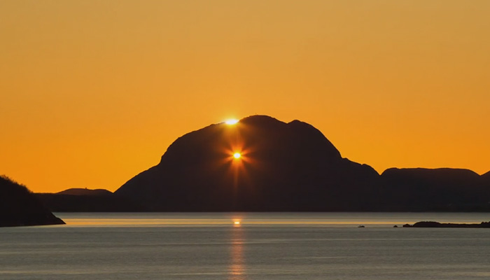 Гора Тургхаттен, Норвегия.