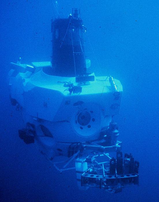 Алвин — пилотируемый подводный аппарат