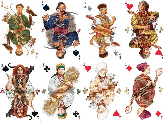 Карты для игры в Корчме.
