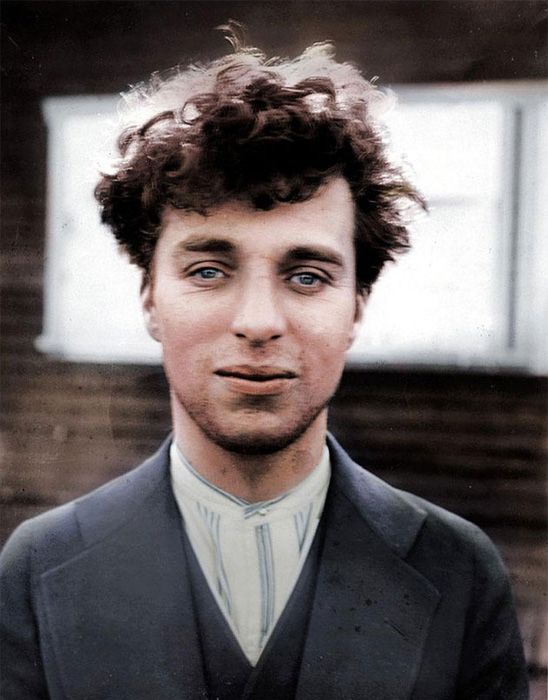 Чарли Чаплин, 1916 год.