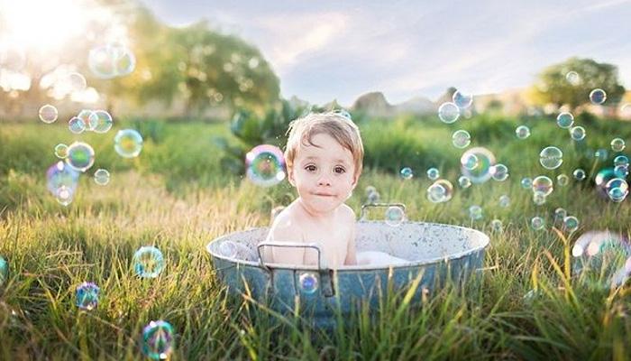 Дети купаются как никто другой.