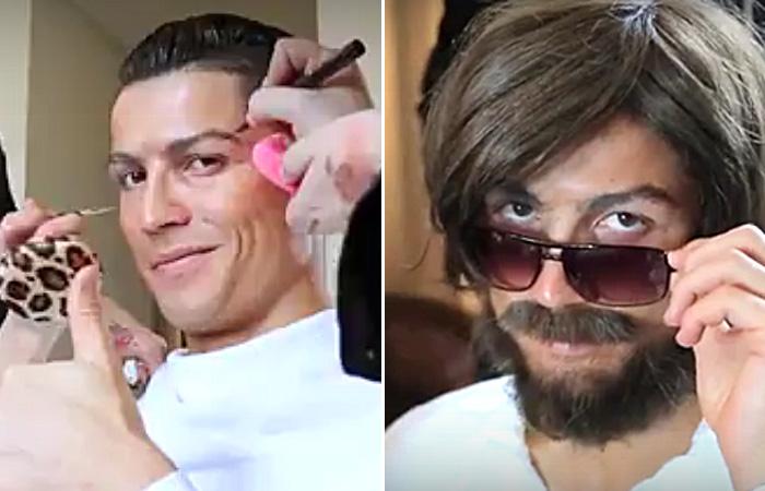 Криштиану Роналду вышел на улицы Мадрида в совершенно неузнаваемом виде.