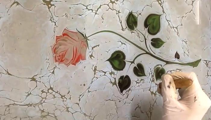 Удивительное искусство эбру: живопись по воде.