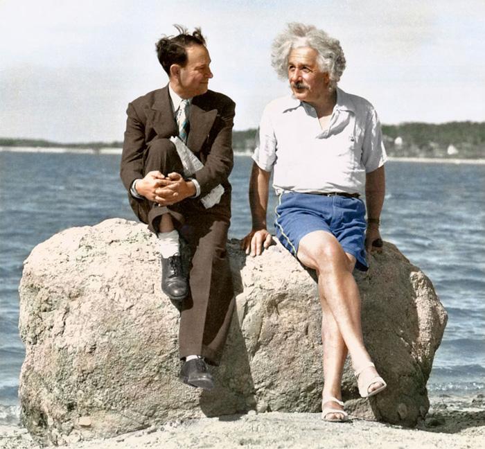 Альберт Эйнштейн, лето 1939.