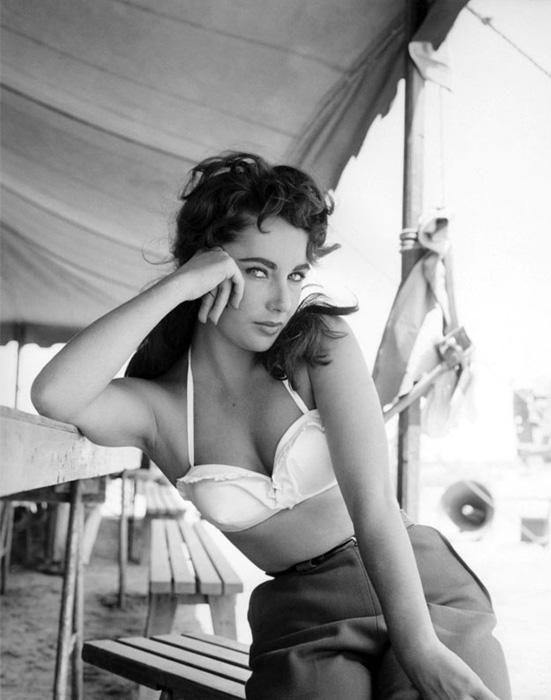 Элизабет Тейлор, 1956 год. Оригинал.