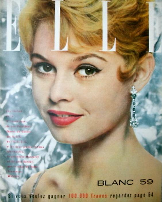 С этой обложки журнала Elle у Бриджит началась новая жизнь