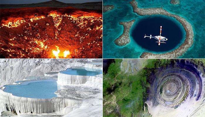 Самые таинственные и необычные уголки планеты Земля.