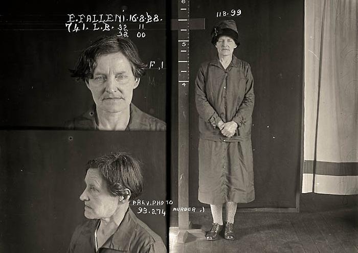 Убийца Евгения Фоллени, она же Гарри Кроуфорд (Eugenia Falleni/Harry Crawford)