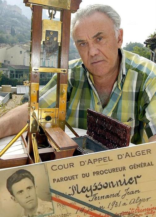 Фернан Мейсонье - самый известный палач ХХ века и документ, удостоверяющий его личность