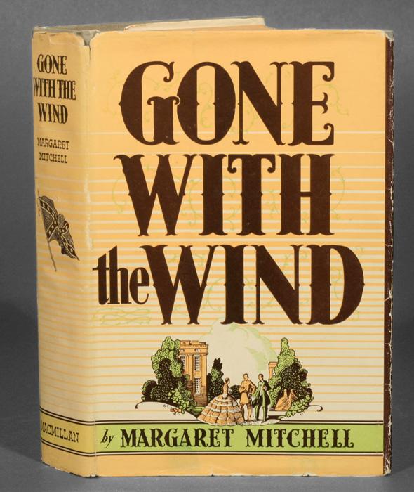 «Унесённые ветром». В первый же год после издания было продано более миллиона экземпляров романа.