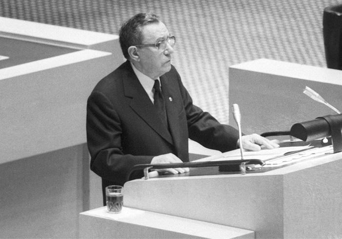 После того как советский истребитель сбил корейский пассажирский боинг Андрею Громыко пришлось «держать ответ» перед мировой общественностью