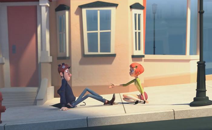 Добрый мультфильм о встрече «Jinxy Jenkins, Lucky Lou».