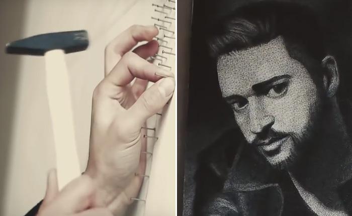 Самый необычный портрет Джастина Тимберлейка.