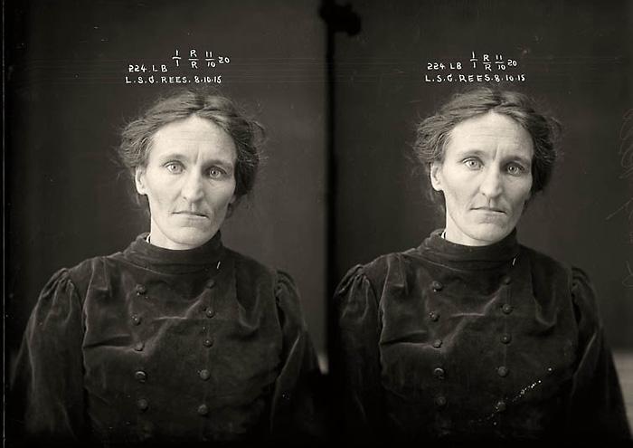 Мошенница Лесли Селина Гертруда Риз (Leslie Selina Gertrude Rees)