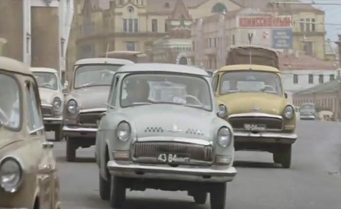 Шумная Москва 60-70х годов во всем ее великолепии.