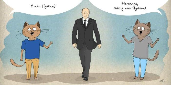 Москва VS Питер: чей Путин?