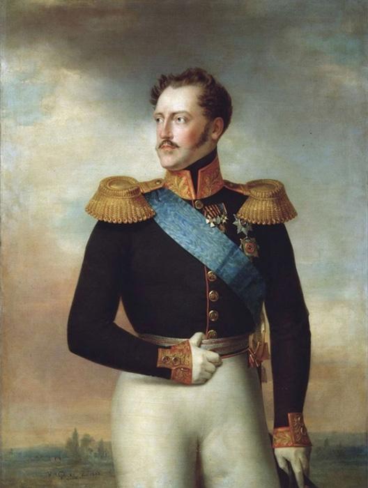 Портрет Николая Первого 1843г. Ф. Крюгер.