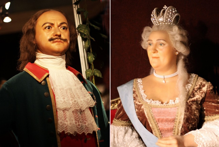 Император Пётр I и Императрица Екатерина I