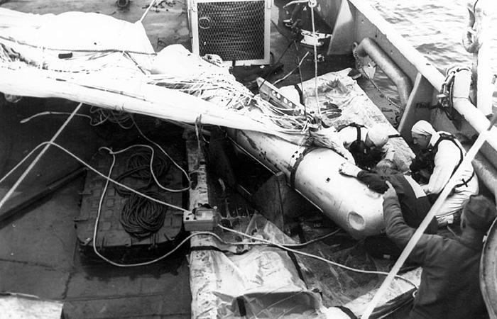 Термоядерная бомба на палубе корабля «Петрель»