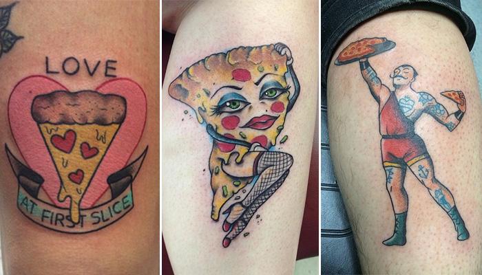 «Съедобные» татуировки.