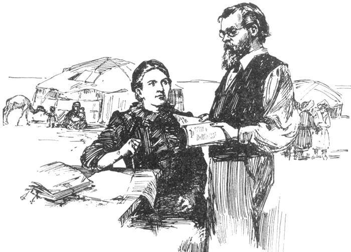 Верная помощница - супруга Александра