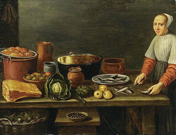 Флоренс Ван Шутен. Еда. 16 век.