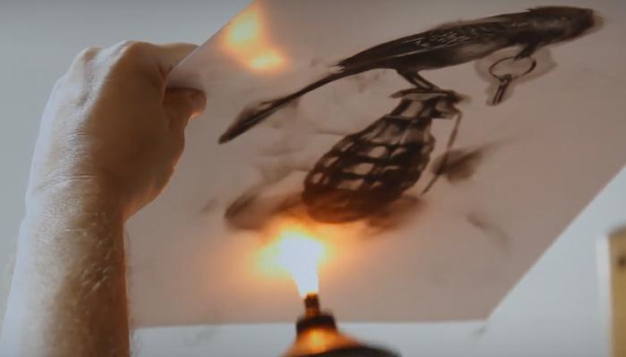 Потрясающе детальные работы, сделанные с помощью огня и инструментов из натуральных материалов.