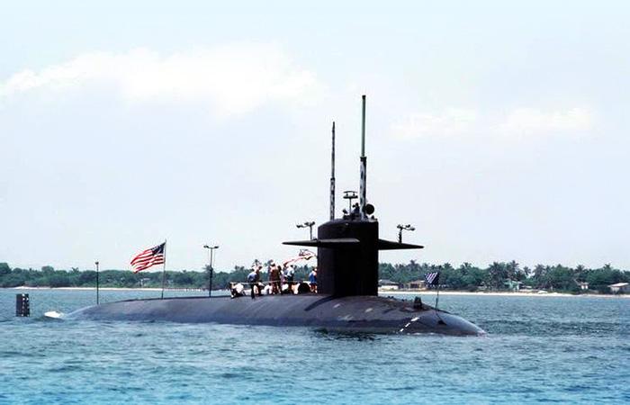 Американская многоцелевая атомная подводная лодка «Трешер» SSN-593