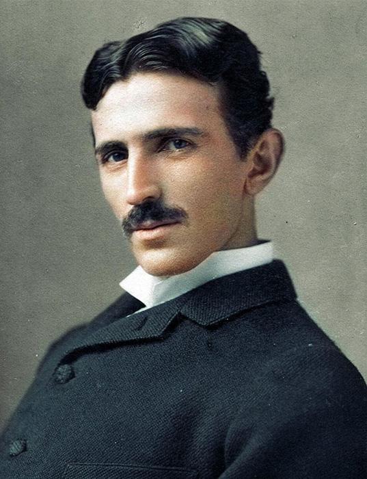 Никола Тесла, 1893 год.
