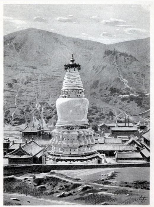 """Фото из книги Потанина Г. Н. """"Тангутско-Тибетская окраина Китая и центральная Монголия"""""""
