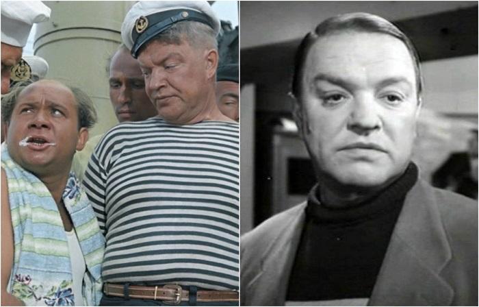 Актер чаще играл роли второго плана, но делал их такими запоминающимися, например - боцман Алексей Степанович в советской комедии.