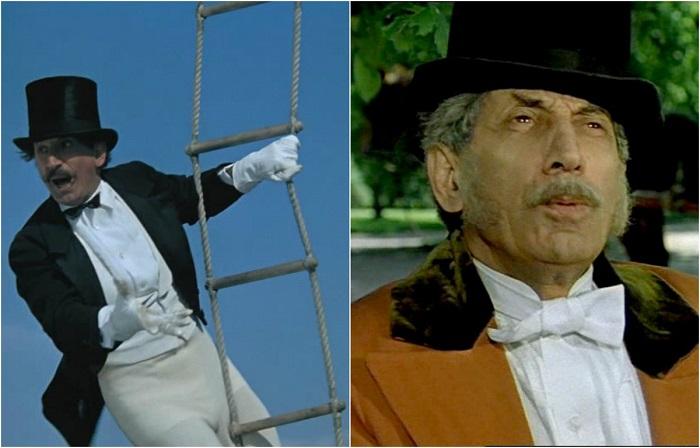 Советский актер получил признание зрителей после роли укротителя - индуса Чоколади в комедийном кинофильме.