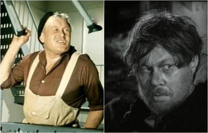 В знаменитой комедии актер сыграл матроса ходовой машинной вахты - в тот самый момент, когда тигры вырвались на свободу и теплоход швыряет из стороны в сторону.