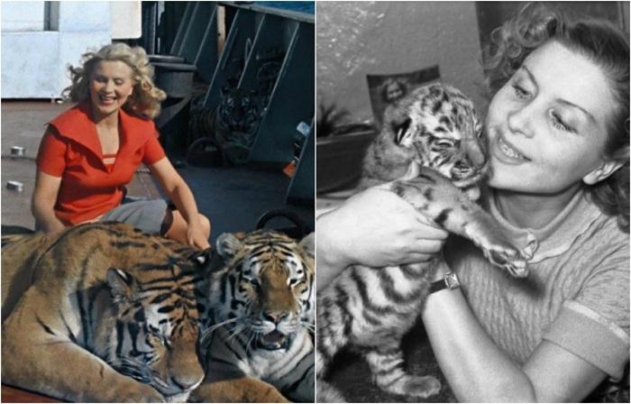 После съёмок в популярном кинофильме, в роли буфетчицы на судне - Марианны Андреевны, дрессировщица стала настоящей всесоюзной звездой.