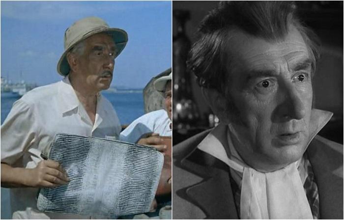 Советский актер театра и кино сыграл в знаменитой комедии роль агента фирмы -продавца зверей.