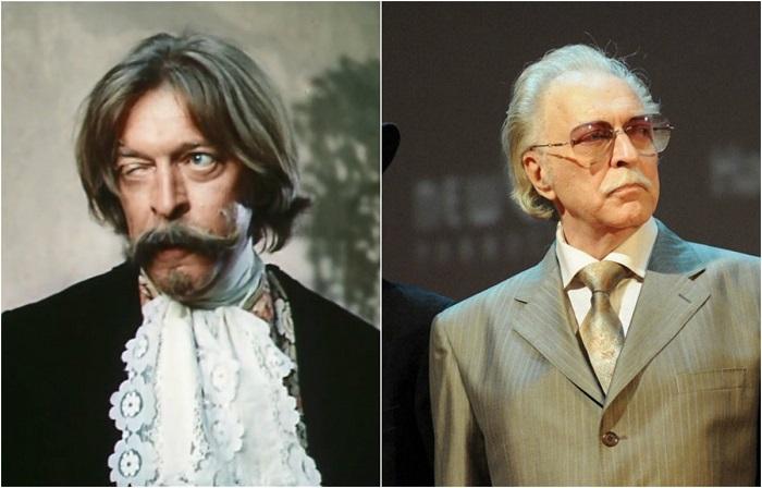 В знаменитом советском сериале актеру пришлось играть сразу две роли – слугу де Брильи Жака и учителя фехтования.