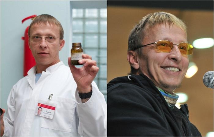 Роль эксцентричного доктора Быкова в телесериале «Интерны» будто специально написана для актера Ивана Охлобыстина.
