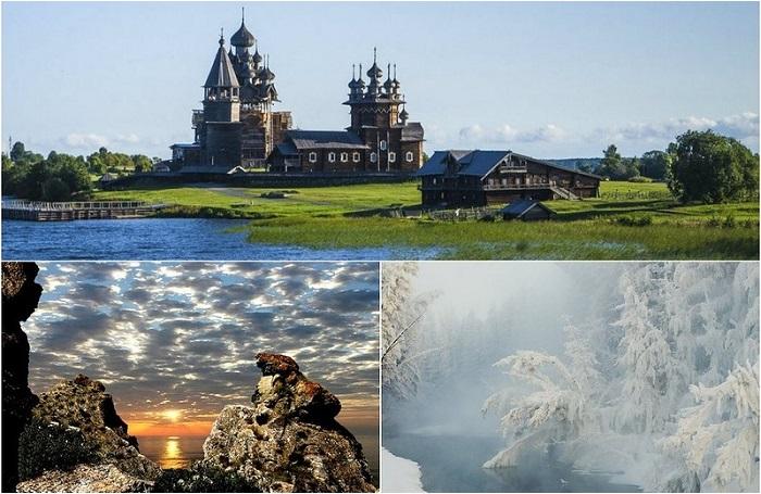 Необычные и красивые места России.