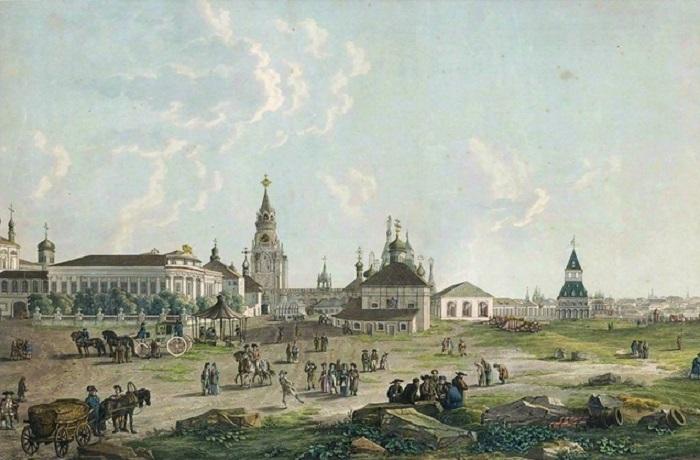 Москва конца XIX века.