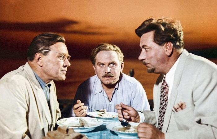Главные герои  советского фильма «Верные друзья».