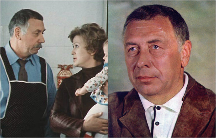 Народный артист СССР исполнил роль няни для Леночки, по совместительству — участник художественной самодеятельности (свистун).