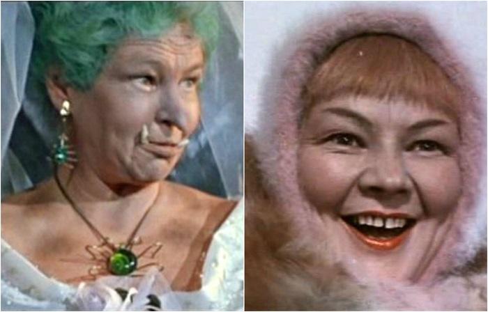 Артистка театра и кино, ставшая популярной благодаря своим великолепным и  оригинальным ролям в детских сказках и комедиях.