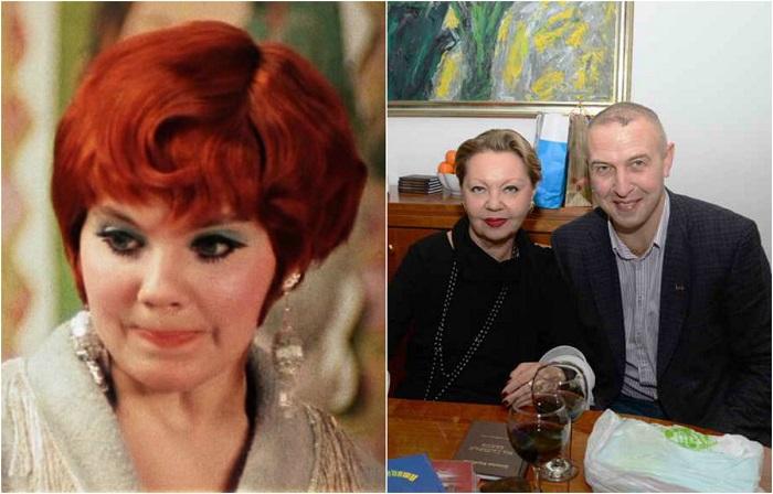 Одной из самых удачных работ актрисы стало исполнение роли Эллочки Щукиной в экранизации романа «12 стульев».