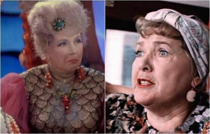 Популярная актриса довольно часто снималась в киносказках и играла роли русских женщин от графинь - до доярок.