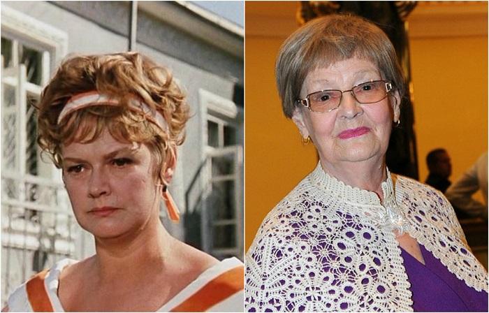 Популярная артистка наиболее известна по эпизодическим ролям в фильмах своего знаменитого супруга Леонида Гайдая.